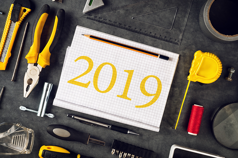 home improvement checklist for the new year